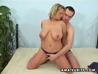 Large-Breasted inexperienced lovemaking wifey throating and romps with facial cumshot finish off