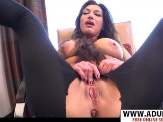 Latina cougar Helena point of view tweak