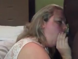 BBW slutwife and hubby share BBC 1 of 2