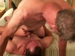 Mature Amateurs Paul and Bill gargling