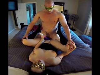 Labor Day room fuck-a-thon and blowage internal cumshot