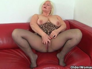 Succulent sbbws grandma plays with her poon compilation