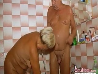 OmaHoteL Grandma Sexually animated fro chum around with annoy take a crap