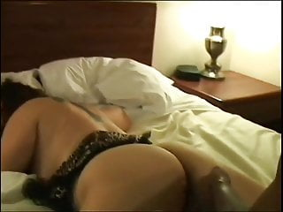 Big black cock luving a milky lush mature