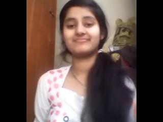 Indian damsel flashing Her yam-sized bra-stuffers