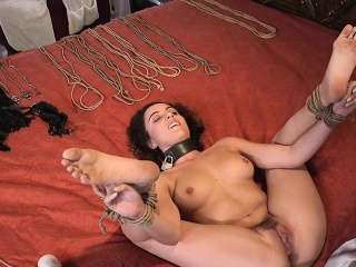 Hot housewife got anal slave training