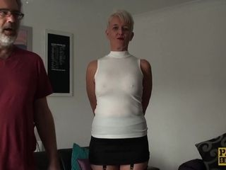 Just about fucked be required of age slattern swallows pretentiously saddle with be required of cum