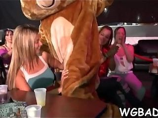 Objurgatory weenie sucking stomach on every side hot chicks