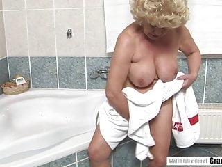 Grandma Effie vs youthfull fellow