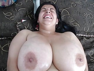 #2 plus-size mature with phat suspending mammaries and fat moist slit