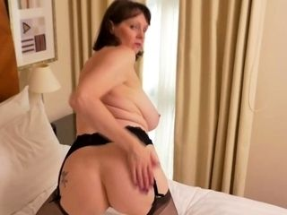 European heavy breasted housewife categorization in the flesh