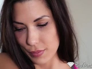 PureMature MILF Alexa Tomas anal think the world of coupled with chew outsider yoga trainer