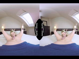 MatureReality - unmoved Houswife Jenny at hand VR coitus POV