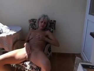 Fabulous Amateur record with Grannies, Masturbation scenes