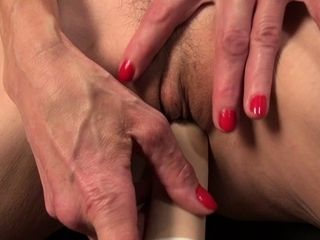 USAwives fine Mature fur covered twats with fucktoys