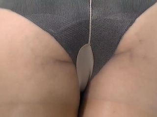 Hairy pussy Anabella in Pantyhose passion masturbation scene