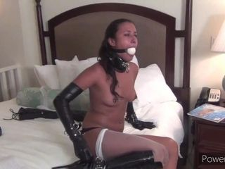 Torrid lady domination & submission unexperienced adult vignette