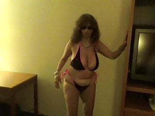 Tinja Sizzles In Her super-sexy whore bathing suit