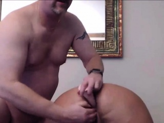 Adult increased by the man bush-league spliced blowjob increased by anal creampie