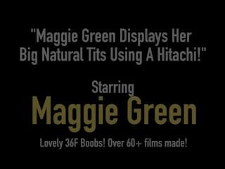 Maggie Green with Dawn Allison humungous inborn bra-stuffers