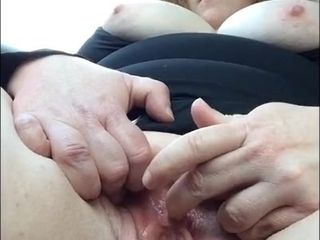 Draining in truck - plump cougar first-timer movie