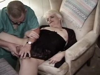 Amazing Homemade video with Grannies, Mature scenes