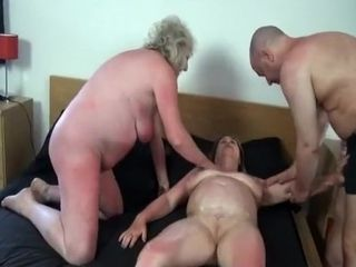 Crazy Homemade movie with Threesome, Grannies scenes