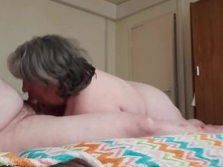20 QUID BLACKPOOL sucky-sucky - fapped BY A MATURE plumper