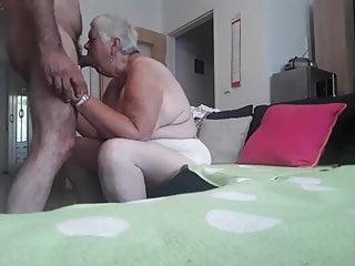 Thirsty grannie....