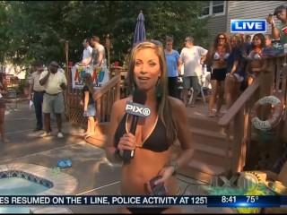 Jill Nicolini cougar WPIX Reporter They Said Get Into swimsuit So I Did