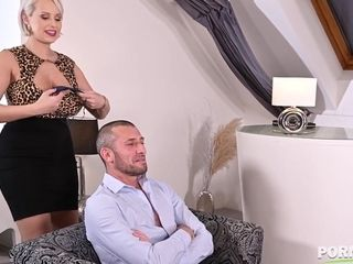 Mom Takes rock-hard prick - Angel Wicky