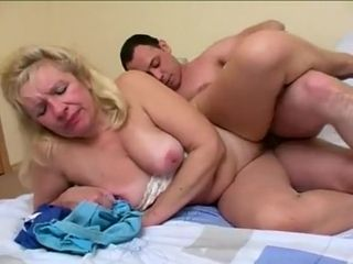 Best Homemade record with Russian, Blonde scenes