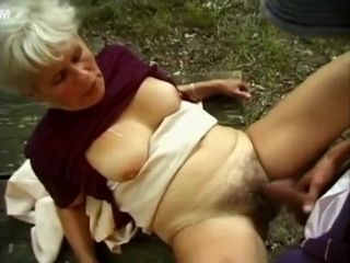 Exotic Homemade movie with Vintage, Grannies scenes