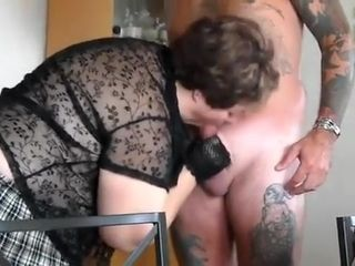 Fabulous Homemade movie with Brunette, Blowjob scenes