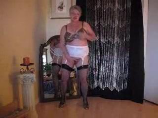 Incredible amateur Grannies, Stockings xxx scene