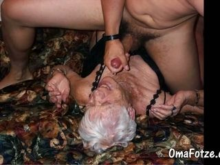 OmaFotzE unsociable of age added to Granny Compilation