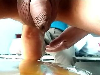 Mexican ebony woman penetrates my rump with her killer sole (anal soleing)
