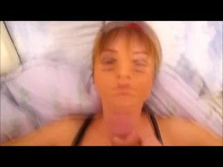 Inexperienced wifey jizz flow facial cumshot