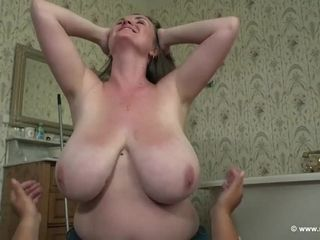 Sexually charming curvaceous honies with phat all-natural bra-stuffers
