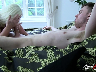 AgedLovE well-endowed grown up Lacey Starr Hardcore darling