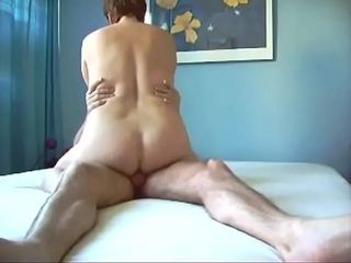 Mature railing ejaculation