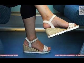Candid jams footwear and sandals 4K in origina, highly detailde soles and footwear