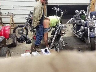 Wifey Pays For bike Repair with assfuck...I luv that female!!!