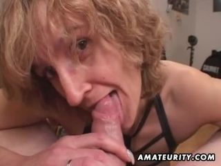 Mom first-timer fuckfest wifey gives head with finish off