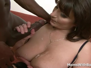 All buxomy And naughty mummy bang-out With bbc