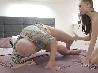 DADDY4K. Ginger-haired chick couldn't stand against to charms of...
