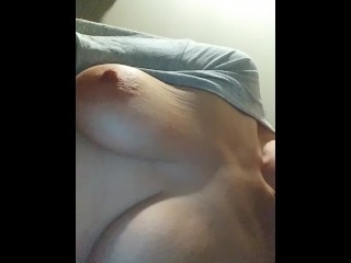 Wifey plays with knockers for uncle