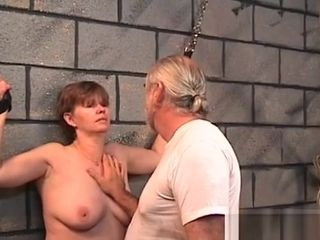 Dame suffers restrain bondage bang-out At Home In Dilettante vid