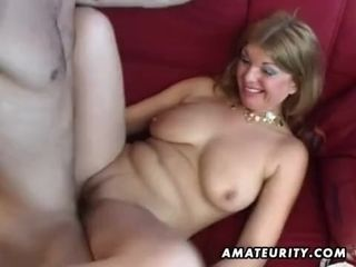 Large-Bosomed unexperienced porno housewife rectal rock-hard hookup