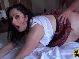 Meaty mummy raunchy fuck-fest sequence